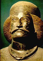 Bronze head of a 