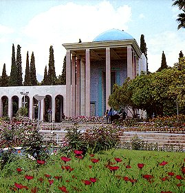 The Tomb of Saadi, Shiraz