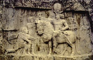 Rock relief at Naksh-i-Rustam