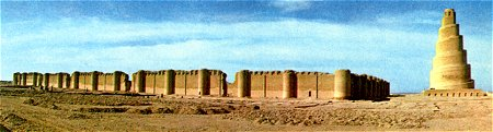 The Great Mosque of Samarra, Iraq, 848-852 AD