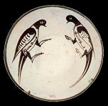 9th century plate, from Nishapur