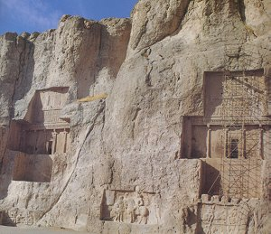 The Achaemenian Tombs and Sassanian bas-reliefs