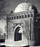 Mausoleum of Ismail the Samanid, Bukhara, USSR c. 907